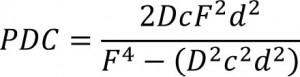Formula del diaframma